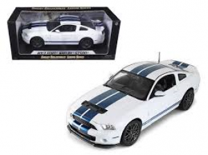2013 Ford Shelby Mustang w/ Chrome Wheels at diecastdepot