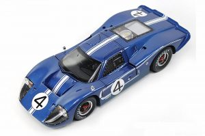 1967 Ford GT MK IV- LeMans 24 Hours #4 at diecastdepot