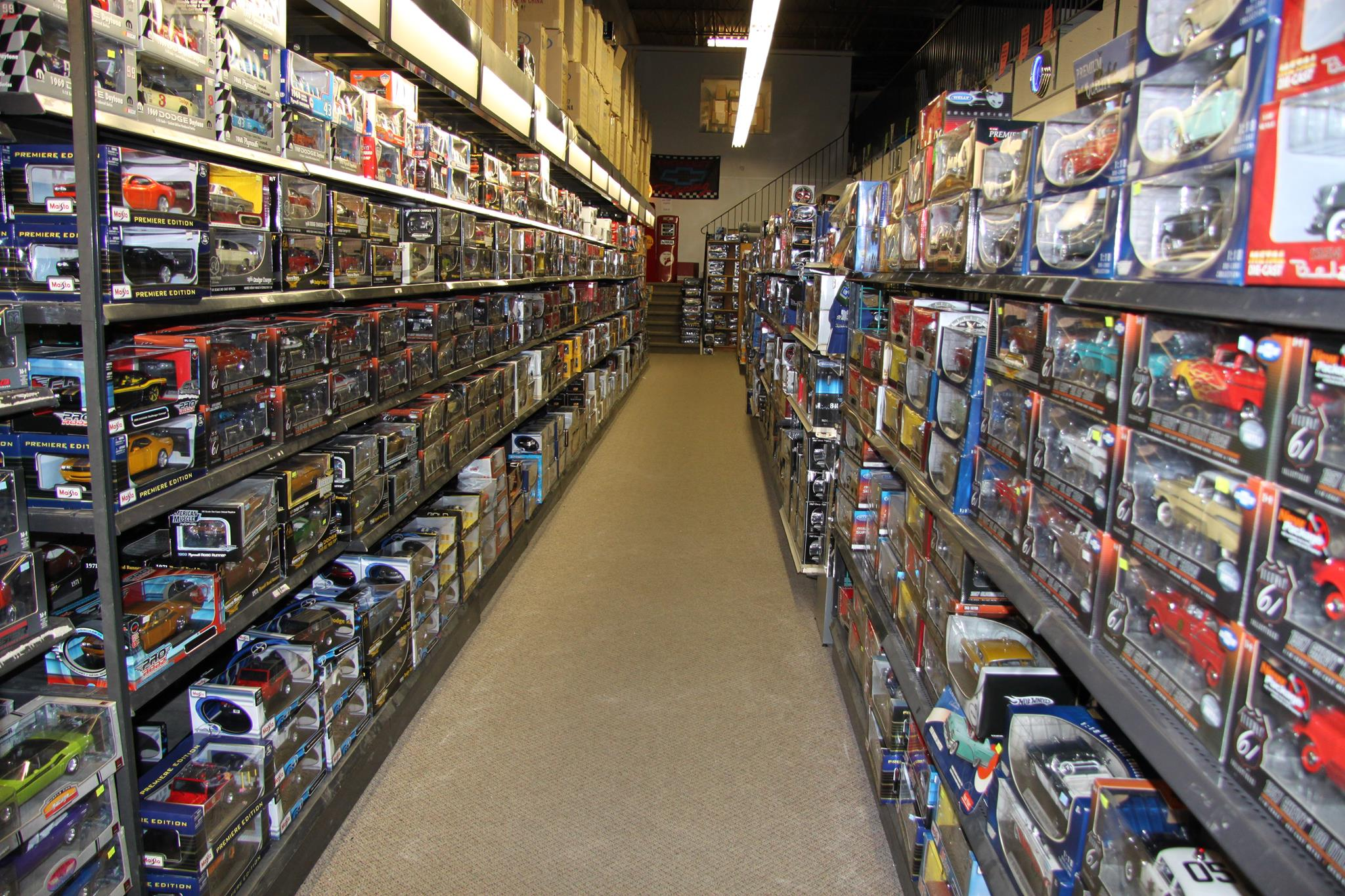 Thousands and Thousands of Diecast Cars