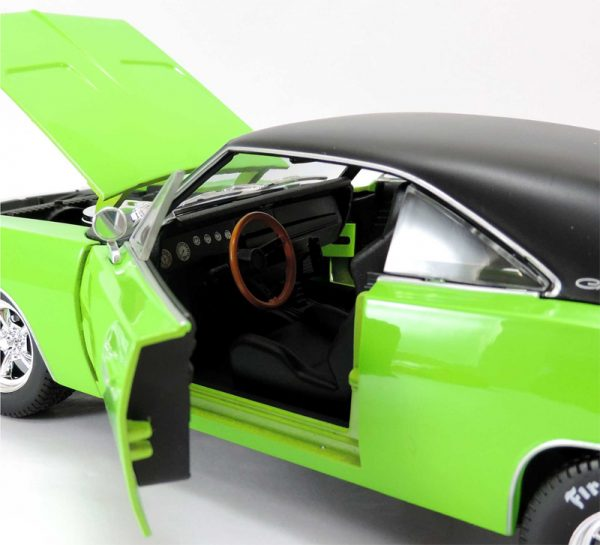 326121g 7 - 1969 Dodge Charger R/T in Green MAIST DESIGN