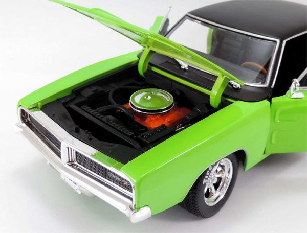 32612g 9 - 1969 Dodge Charger R/T in Green MAIST DESIGN