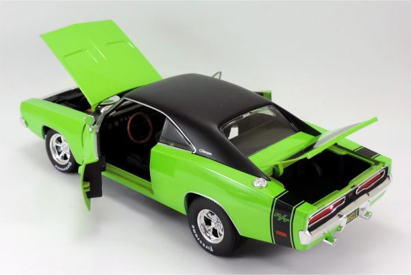 32612green 5 - 1969 Dodge Charger R/T in Green MAIST DESIGN
