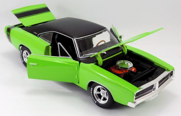 32612green - 1969 Dodge Charger R/T in Green MAIST DESIGN
