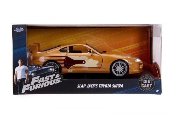 99540 1.24 ff slap jacks toyota supra in packaging - SLAP JACK'S TOYOTA SUPRA - FAST & FURIOUS