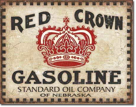 td2074 - RED CROWN GASOLINE- Mancave