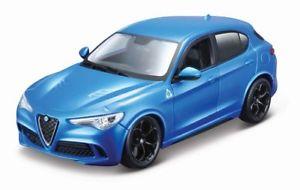 18 21086bl - Alfa Romeo Stevio- Blue 1:24