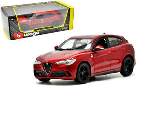 18 21086r - Alfa Romeo Stevio- Red 1:24