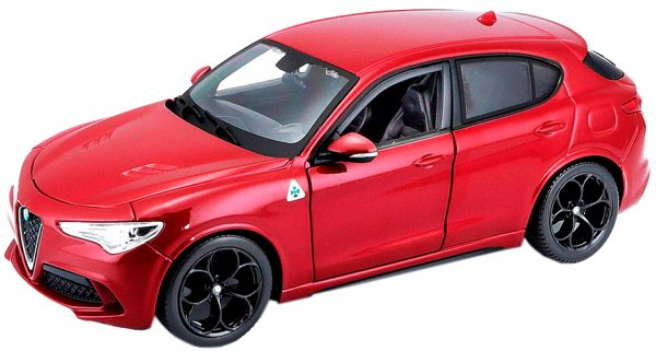 18 21086red - Alfa Romeo Stevio- Red 1:24