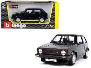 18 21089bk - 1979 Volkswagen Golf MK1 GTI- 1:24 Black