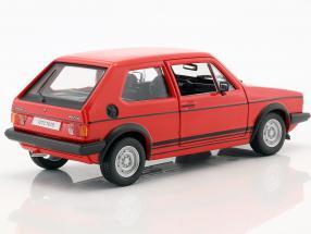 18 21089red - 1979 Volkswagen Golf MK1 GTI- 1:24 Red