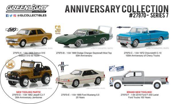 27970d - 1982 Jeep CJ-7 30th Anniversary Jamboree / ANNIVERSARY COLLECTION SERIES 7