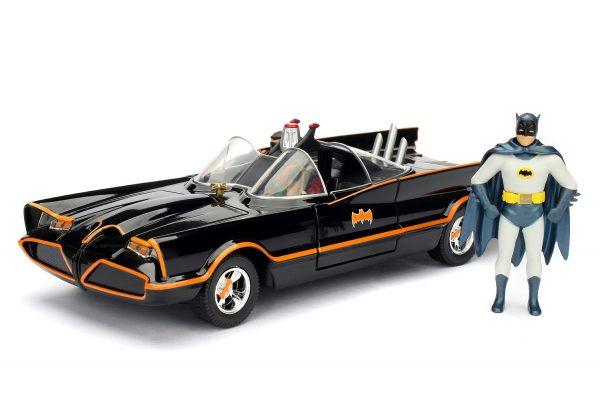 30873a - 1966 Classic Batmobile w/Batman & Robin - Build N Collect