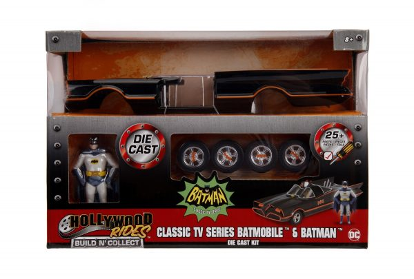 30873b - 1966 Classic Batmobile w/Batman & Robin - Build N Collect