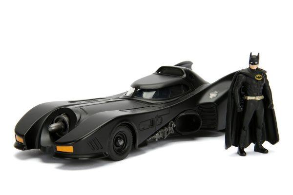 30874a - 1989 Batman Batmobile w/Batman - Build N Collect