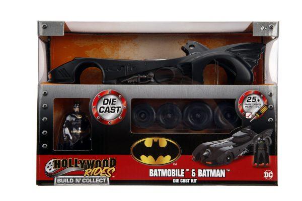 30874b - 1989 Batman Batmobile w/Batman - Build N Collect