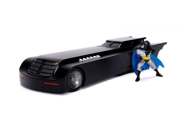 30916 1.24 animated series batmobile w batman 1 - ANIMATED SERIES BATMOBILE W/BATMAN
