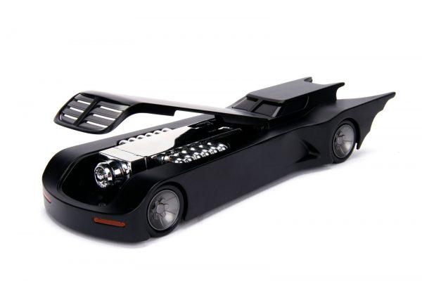 30916 1.24 animated series batmobile w batman 6 - ANIMATED SERIES BATMOBILE W/BATMAN