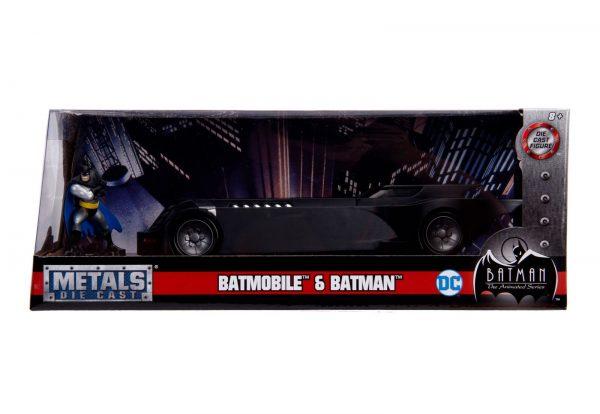 30916 1.24 animated series batmobile w batman 8 - ANIMATED SERIES BATMOBILE W/BATMAN
