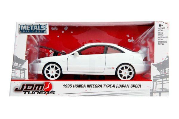 30931w - 1995 Honda Integra Type R- 1:24 White