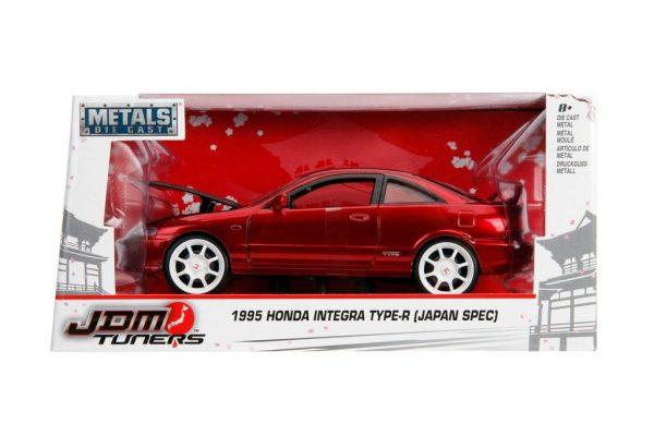30932r - 1995 Honda Integra Type R- 1:24 Red