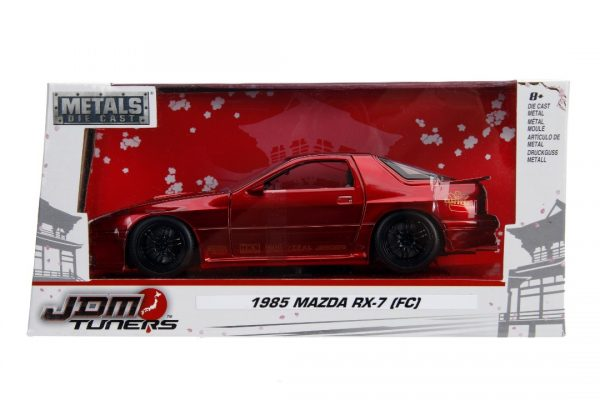 30941 02 - 1985 Mazda RX-7 FC- 1:24 Red