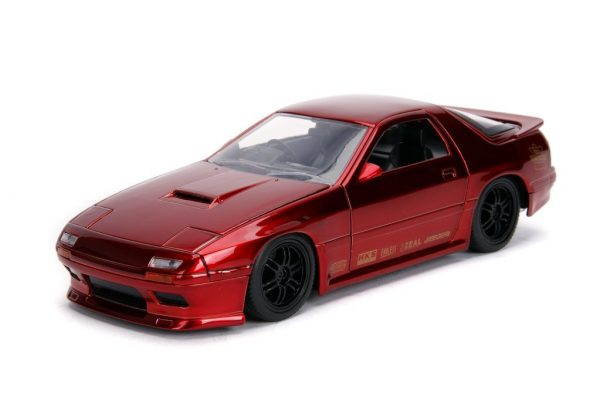 30941r - 1985 Mazda RX-7 FC- 1:24 Red