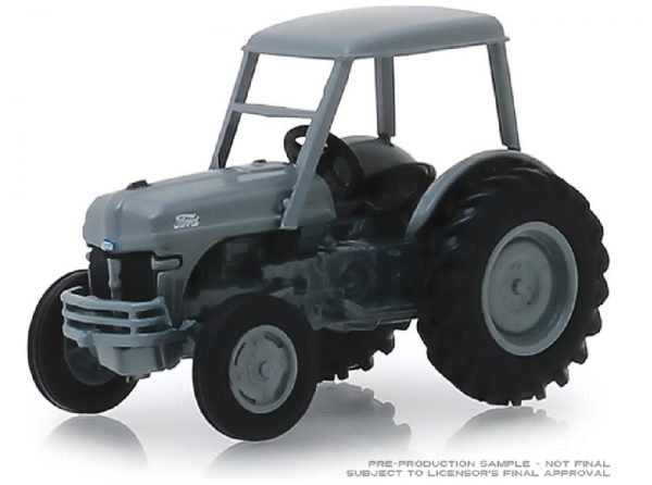 48020 b - 1949 Ford 8N Tractor in Grey with Cab Down on the Farm Series 2
