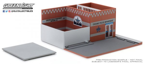 57041 2 - Hot Pursuit Central Command Diorama - City of Chicago Police Department