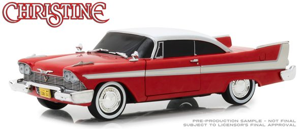 84082 - 1958 Plymouth Fury (Evil Version with Blacked Out Windows) Christine (1983)