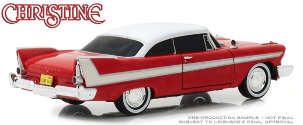 84082a - 1958 Plymouth Fury (Evil Version with Blacked Out Windows) Christine (1983)