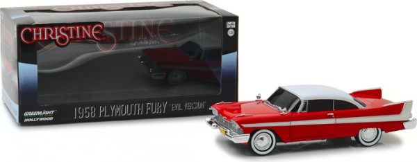 84082c - 1958 Plymouth Fury (Evil Version with Blacked Out Windows) Christine (1983)