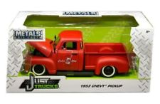 99178r - 1953 Chevy Pickup- 1:24 Red
