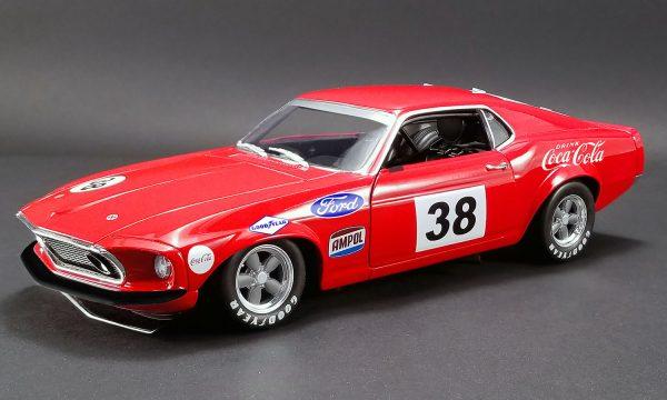 """a1801828 1 - 1969 Boss 302 """"Allan Moffat"""" Red #38 Trans Am racer"""