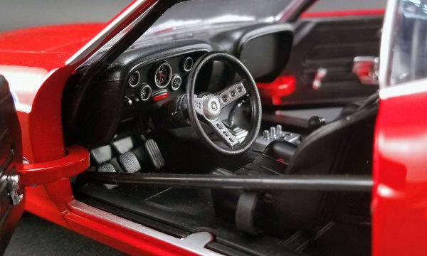 """a1801828c - 1969 Boss 302 """"Allan Moffat"""" Red #38 Trans Am racer"""