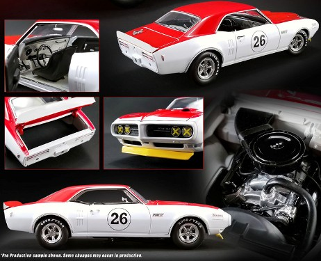 a1805210 1 - 1968 Pontiac Trans Am Firebird #26 Jerry Titus