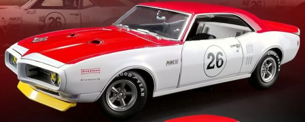 a1805210 - 1968 Pontiac Trans Am Firebird #26 Jerry Titus