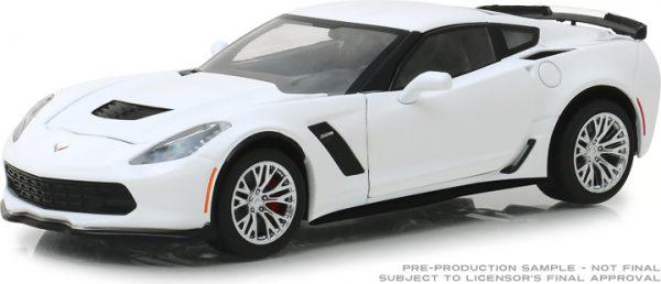 18250 - 2019 Chevrolet Corvette Z06 Coupe - Arctic White 1:24