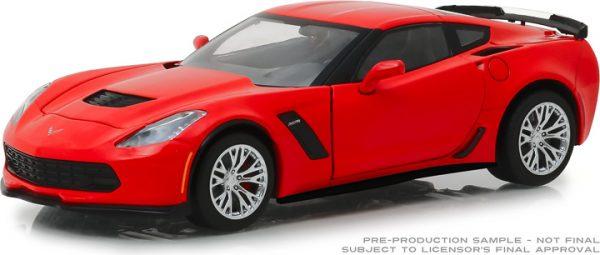 18251 - 2019 Chevrolet Corvette Z06 Coupe - Torch Red 1:24