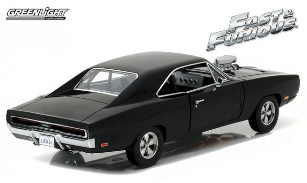 19027 2 - 1970 Dodge Charger- Artisan Collection - Fast & Furious - The Fast and the Furious (2001)