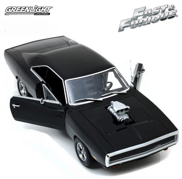 19027 3 - 1970 Dodge Charger- Artisan Collection - Fast & Furious - The Fast and the Furious (2001)