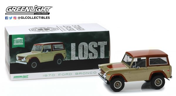 19057 - 1970 Ford Bronco- 1:18 Artisan Collection - Lost (TV Series, 2004-10)