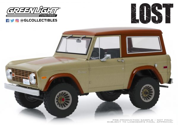 19057c - 1970 Ford Bronco- 1:18 Artisan Collection - Lost (TV Series, 2004-10)