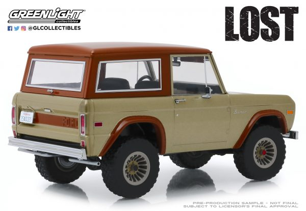 19057d - 1970 Ford Bronco- 1:18 Artisan Collection - Lost (TV Series, 2004-10)