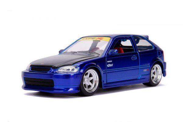 30929 1.24 jdm 1997 honda civic ek type r candy blue 1 - 1997 Honda Civic EK Type R- Blue
