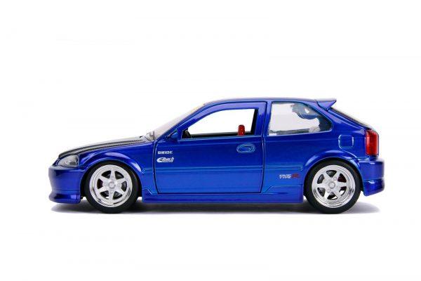 30929 1.24 jdm 1997 honda civic ek type r candy blue 2 - 1997 Honda Civic EK Type R- Blue