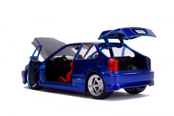 30929 1.24 jdm 1997 honda civic ek type r candy blue 5 - 1997 Honda Civic EK Type R- Blue