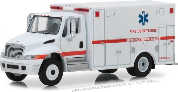 33140b - 2013 International Durastar Ambulance - Fire Department Emergency Medical Services ALS Unit