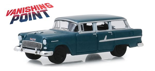 """44840 a - 1955 Chevrolet Two-Ten Townsman """"Just Married""""-Vanishing Point (1971) - 1:64"""