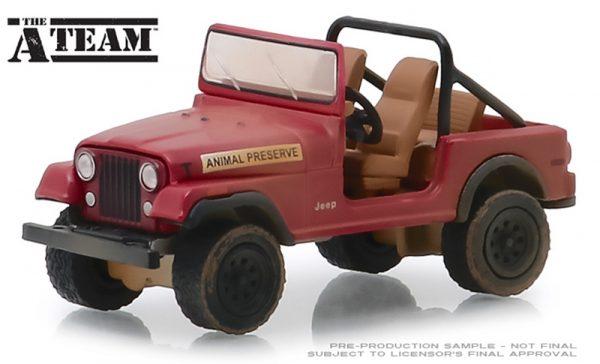 44840 c - Jeep CJ-7- The A-Team (1983-87 TV Series) - 1:64