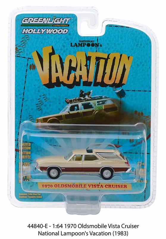 44840e 1 - 1970 Oldsmobile Vista Cruiser -National Lampoon's Vacation (1983) -1:64
